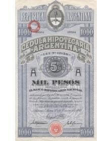 Cedula Hipotecaria Argentina
