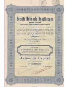 Sté Nationale Hypothécaire (Nationale Hypotheekmaatschappij)