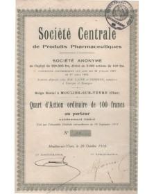 Sté Centrale de Produits Pharmaceutiques