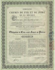 Cie du Chemin de Fer et du Port de La Réunion