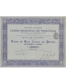 Sté Nouvelle du Casino Municipal de Trouville