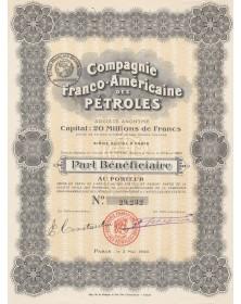 Cie Franco-Américaine des Pétroles