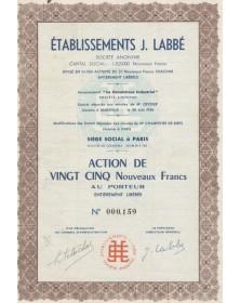 """Ets J. Labbé (anciennement -Le Caoutchouc Industriel-"""""""""""