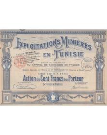 Exploitations Minières en Tunisie