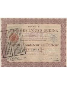 Sté des Mines de l'Oued Oudina