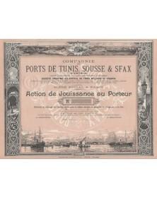 Cie des Ports de Tunis, Sousse & Sfax