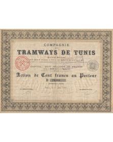 Cie des Tramways de Tunis