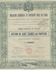 Magasins Généraux et Entrepôt Réel de Tunis