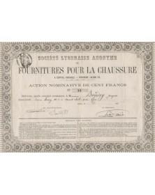 S.A. Lyonnaise de Fourniture pour la Chaussure