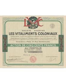 S.A. Les Vitaliments Coloniaux