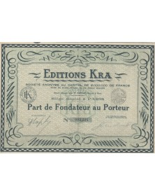 Editions Kra