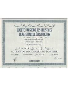 Cie Tunisienne des Industries de Matériaux de Construction