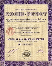 Ets Roche - Petiot