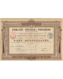 Publics - Offices - Parisiens