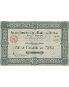 Sté Immobilière de Paris et du Littoral