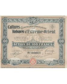 Cie Française des (Tabacs) Cultures d'Extrême-Orient