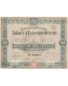 Cie Française des Tabacs d'Extrême-Orient
