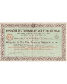Cie des Tramways de Nice et du Littoral