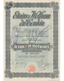 Etains & Wolfram du Tonkin