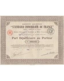 S.A. Standard Immobilier de France