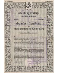 Ablösungsanleihe der Stadt Düsseldorf