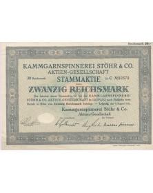 Kammgarnspinnerei Stöhr & Co. AG