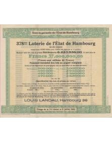 378ème Loterie de l'Etat de Hambourg
