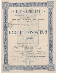 Belfort-Alimentation, SA Coopérative