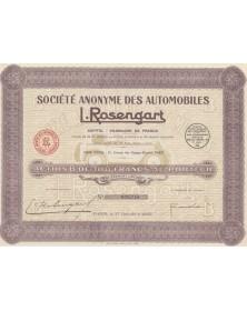 Sté des Automobiles L. Rosengart