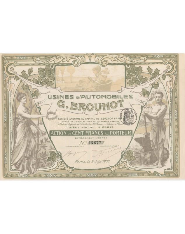 Usines d'Automobiles G. Brouhot