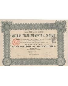 S.A. des Anciens Ets L. Chauvin (Caoutchouc)