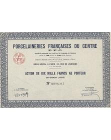 Porcelaineries Françaises du Centre (PFC)