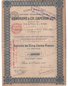 Anciens Ets Vandrand & Ch. Capéran & Cie