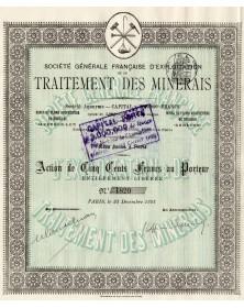 Sté Gle Française d'Exploitation et de Traitement des Minerais