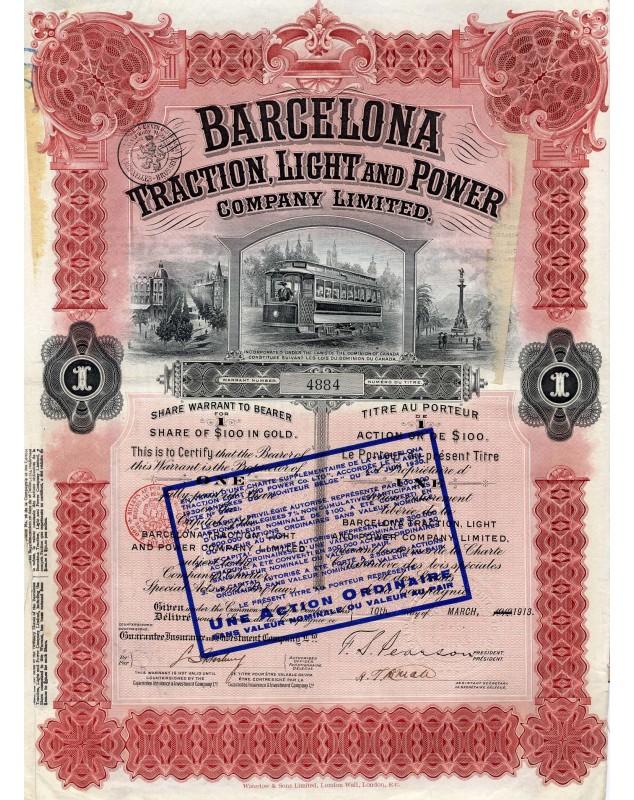 Barcelona Traction, Light and Power Company Ltd