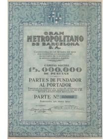 Gran Metropolitano de Barcelona S.A.