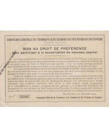 Cie Générale de Tramways et de Chemins de Fer Vicinaux