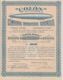 Colón - Compañia Transaerea Española