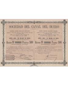 Sociedad del Canal del Duero Valladolid Madrid