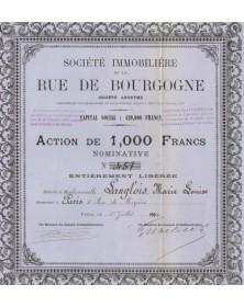 Sté Immobilière de la Rue de Bourgogne