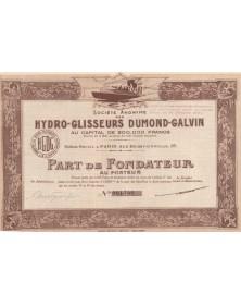 S.A. des Hydro-Glisseurs Dumond-Galvin
