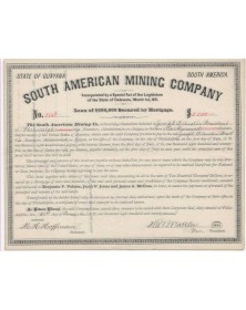 South American Mining Company State of Guyana