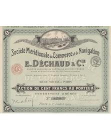 Sté Méridionale de Commerce et de Navigation