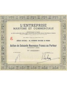 L'Entreprise Maritime et Commerciale