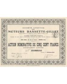 S.A. des Moteurs Dansette-Gillet