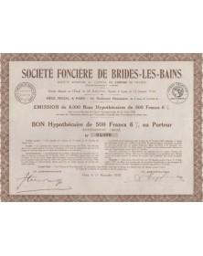 Sté Foncière de Brides-Les-Bains