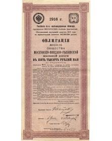 Moscow-Windau-Rybinsk Railways
