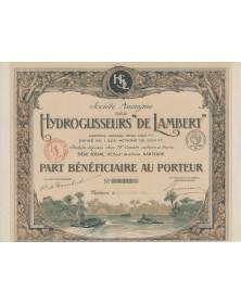 Hydroglisseurs ''De Lambert''