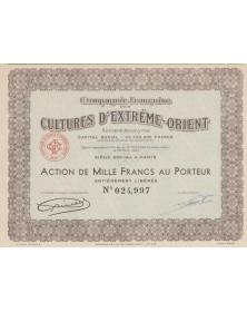 Cie Française des Cultures d'Extrême-Orient