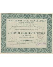 S.A. de la Villa de l'Océan (Saint-Jean-de-Luz)